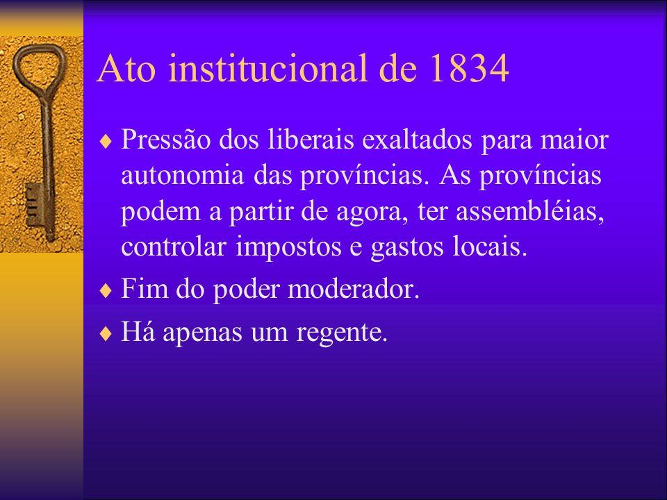 Ato institucional de 1834