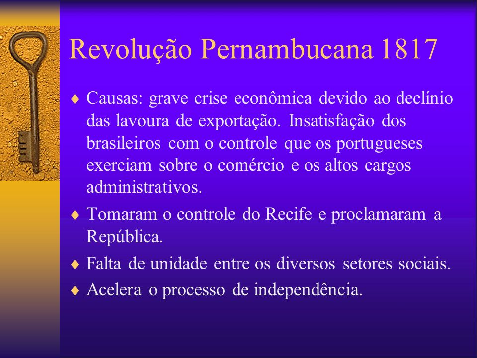 Revolução Pernambucana 1817