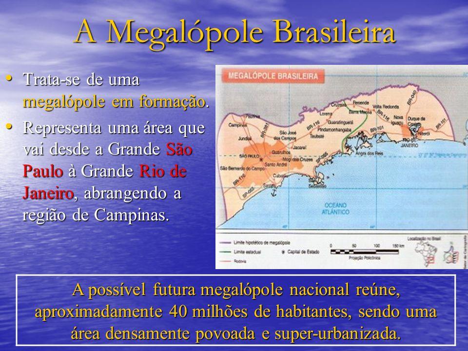 A Megalópole Brasileira