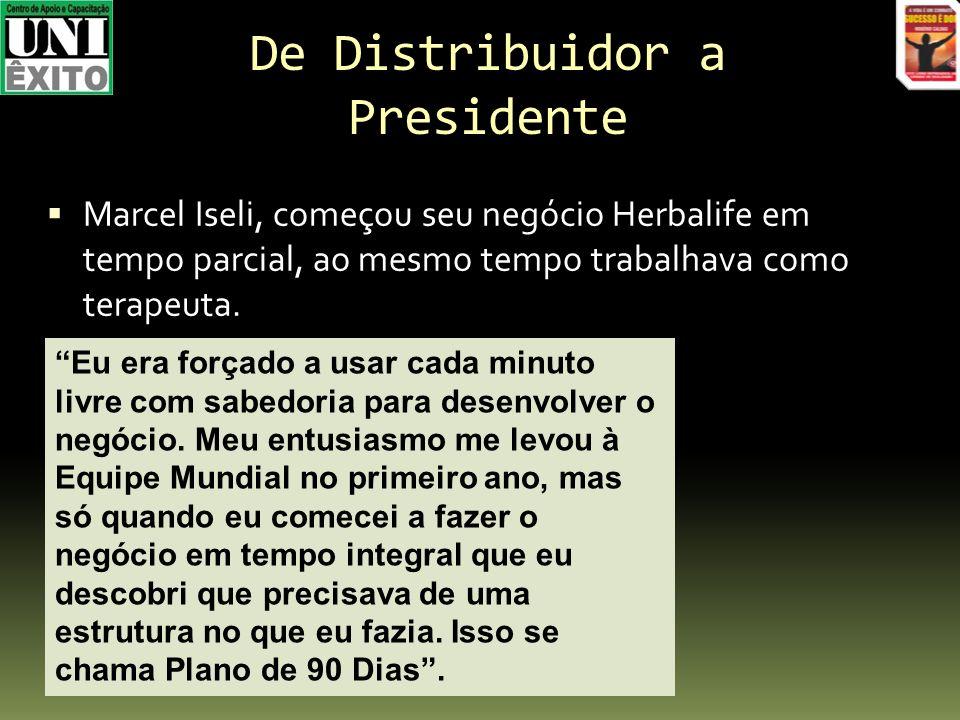 De Distribuidor a Presidente