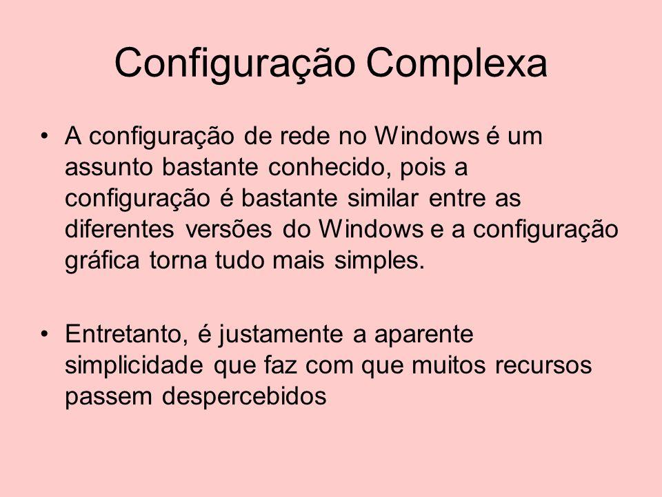 Configuração Complexa