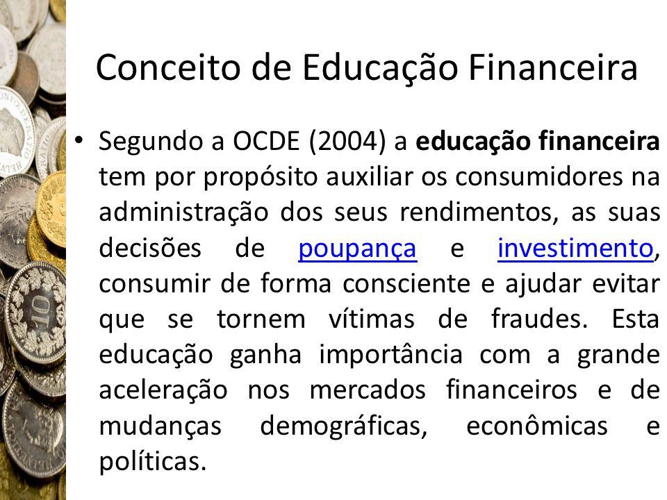 Conceito de Educação Financeira