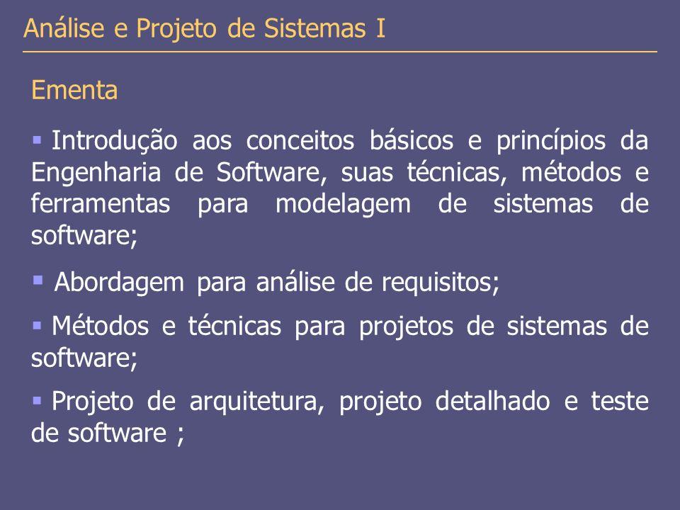 Abordagem para análise de requisitos;