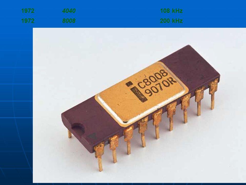 1972 4040 108 kHz 8008 200 kHz