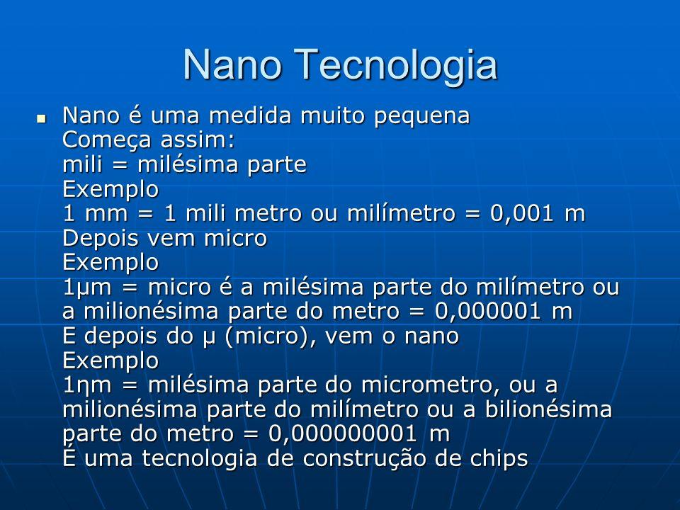 Nano Tecnologia