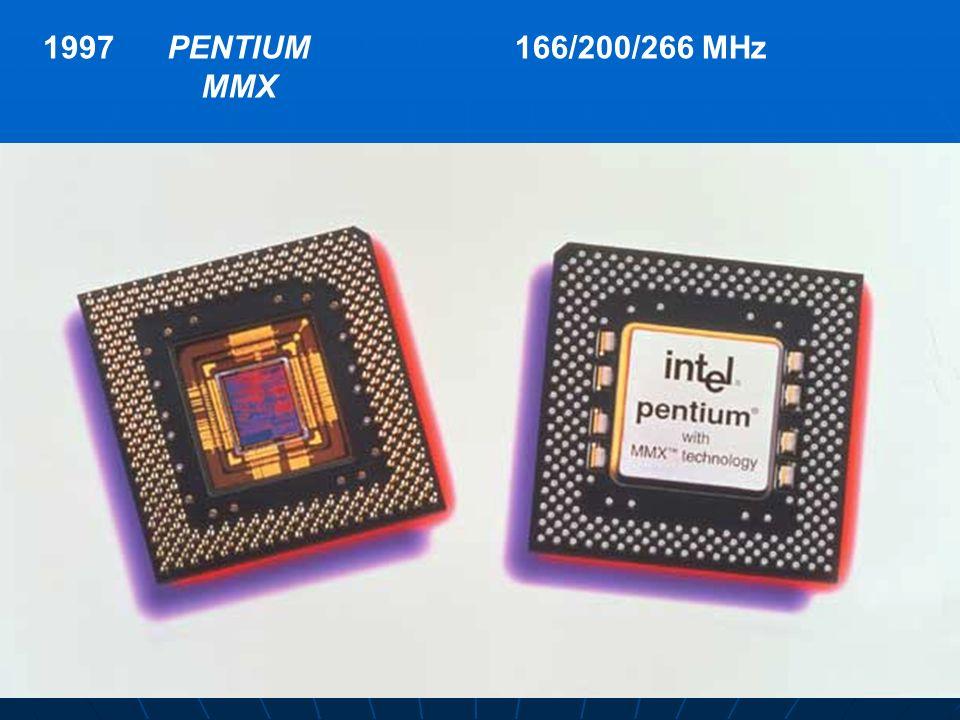1997 PENTIUM MMX 166/200/266 MHz