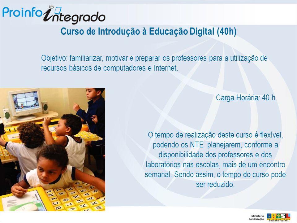 Curso de Introdução à Educação Digital (40h)