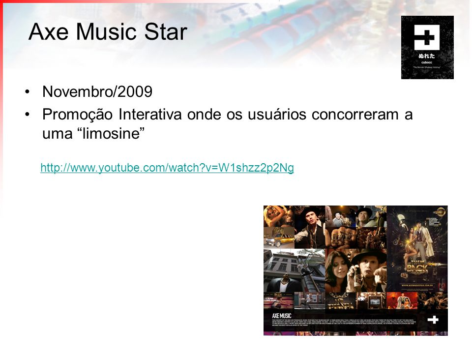 Axe Music Star Novembro/2009