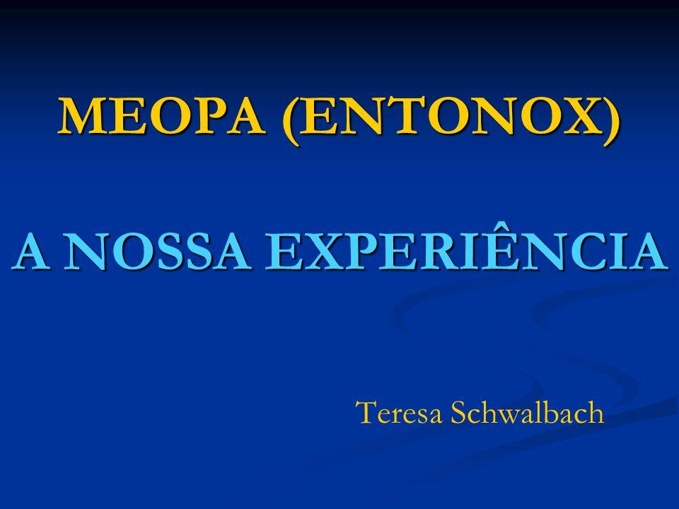 MEOPA (ENTONOX) A NOSSA EXPERIÊNCIA