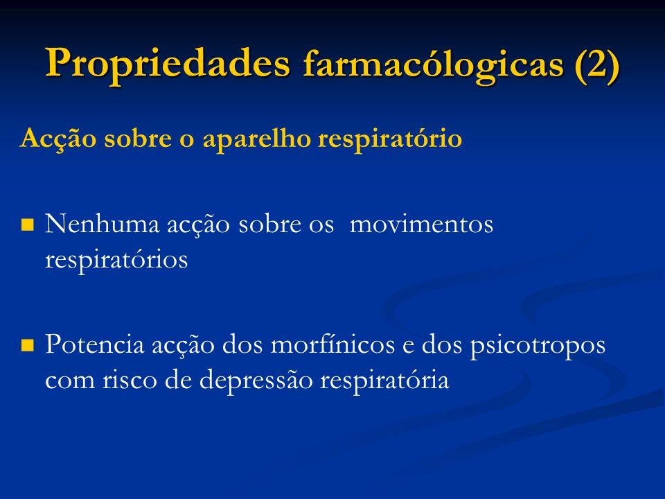 Propriedades farmacólogicas (2)