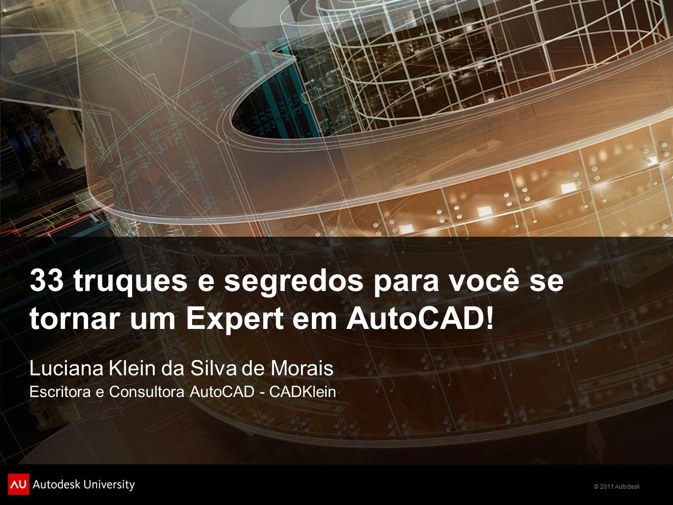 33 truques e segredos para você se tornar um Expert em AutoCAD!