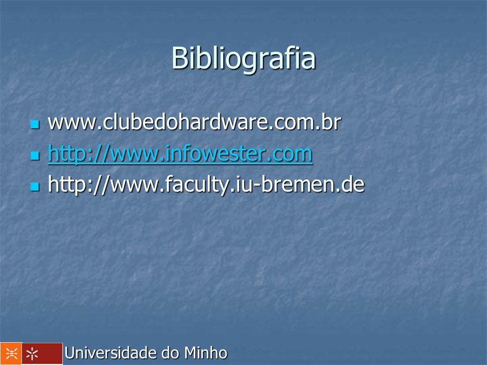 Bibliografia www.clubedohardware.com.br http://www.infowester.com