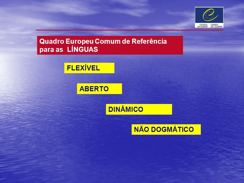 Quadro Europeu Comum de Referência para as LÍNGUAS