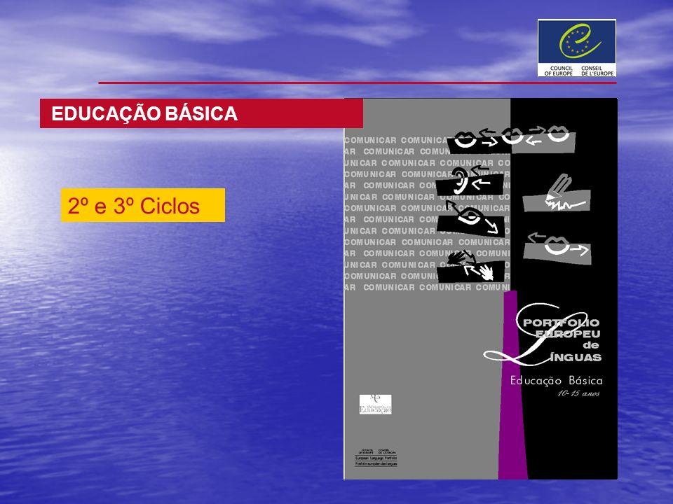 EDUCAÇÃO BÁSICA 2º e 3º Ciclos
