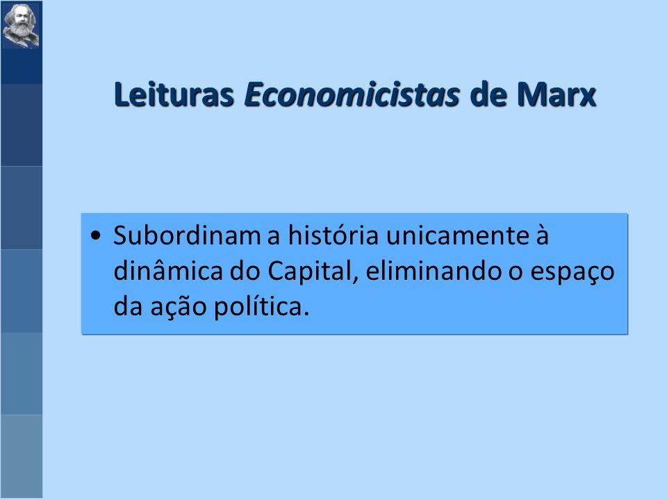 Leituras Economicistas de Marx