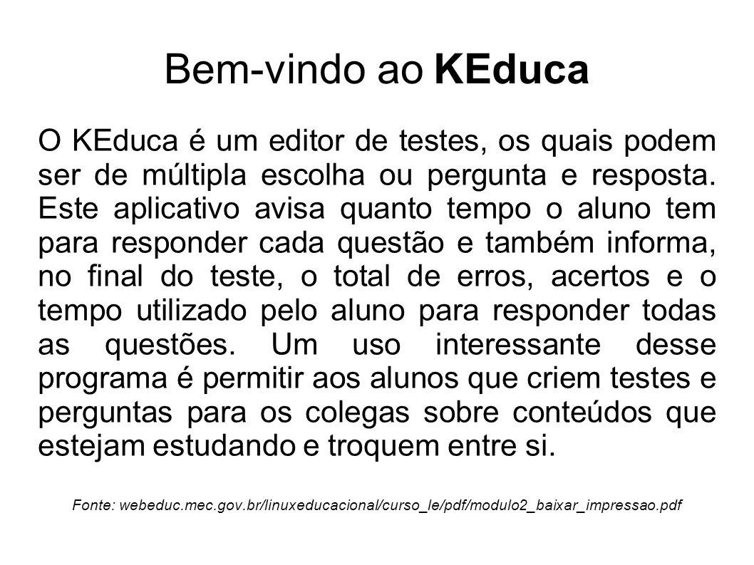 Bem-vindo ao KEduca