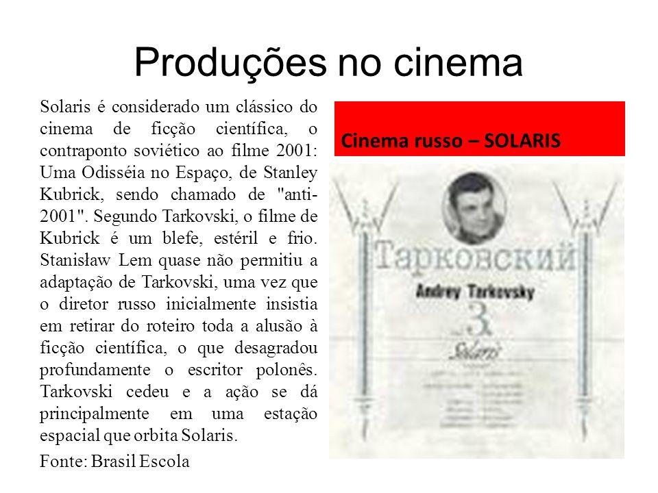 Produções no cinema Cinema russo – SOLARIS