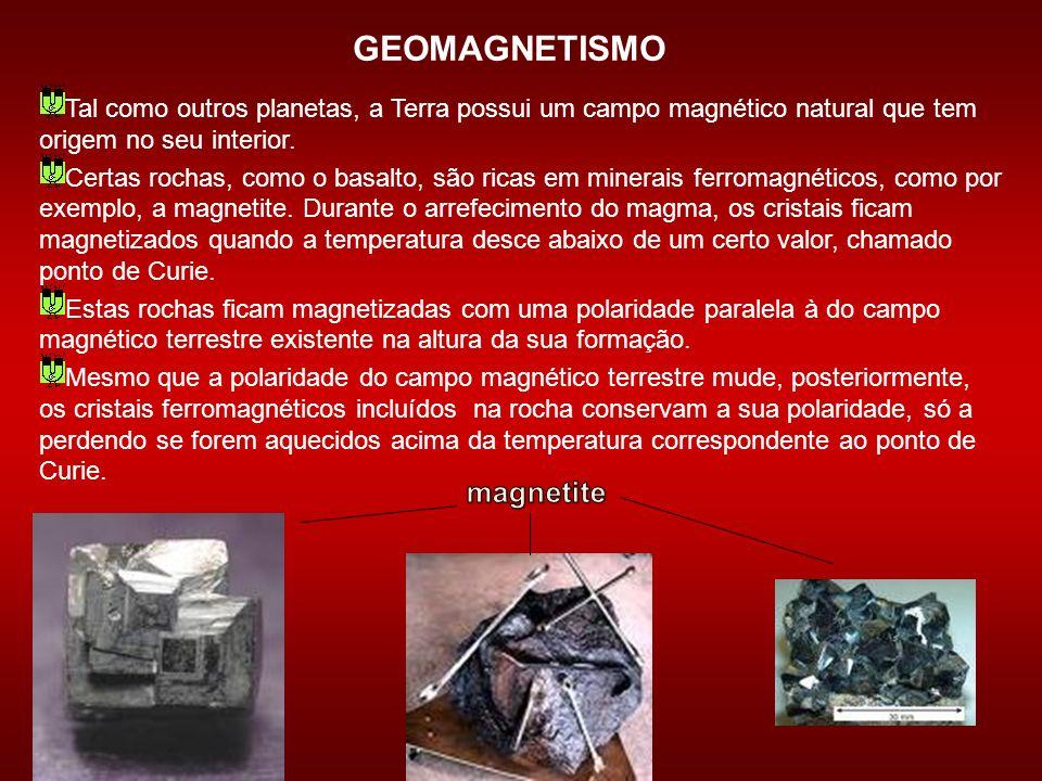 GEOMAGNETISMO magnetite
