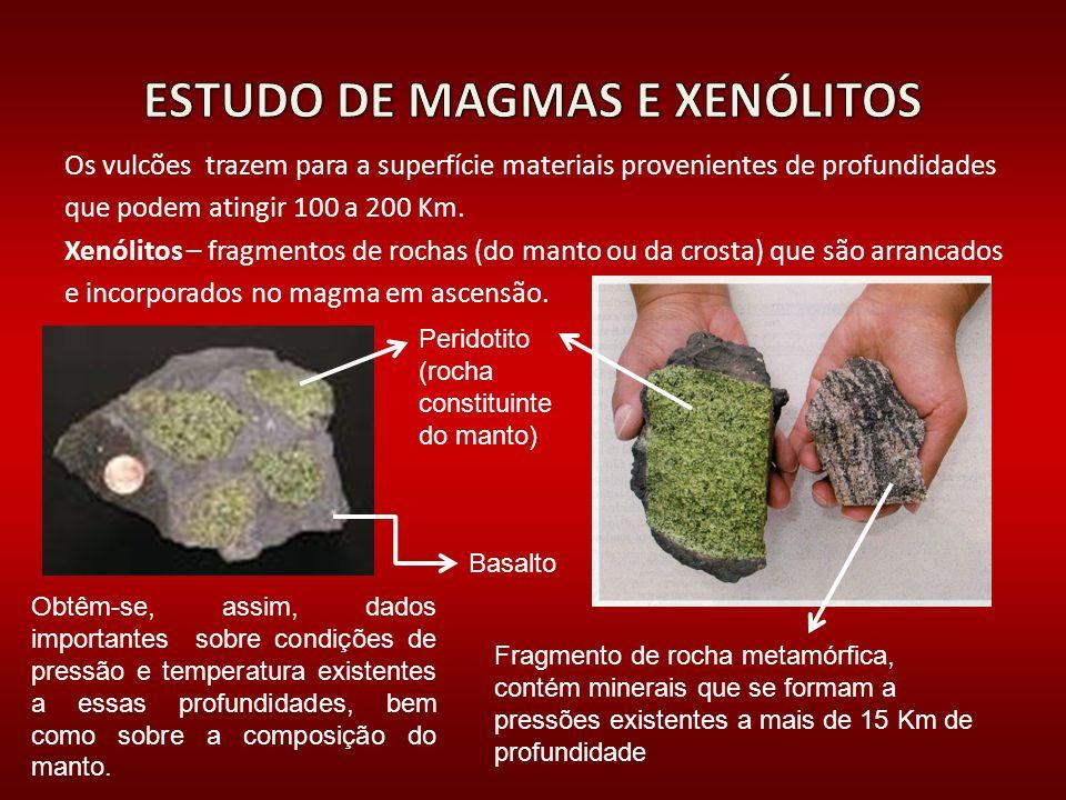 ESTUDO DE MAGMAS E XENÓLITOS
