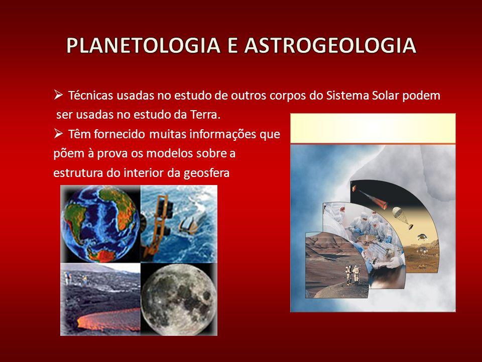 PLANETOLOGIA E ASTROGEOLOGIA