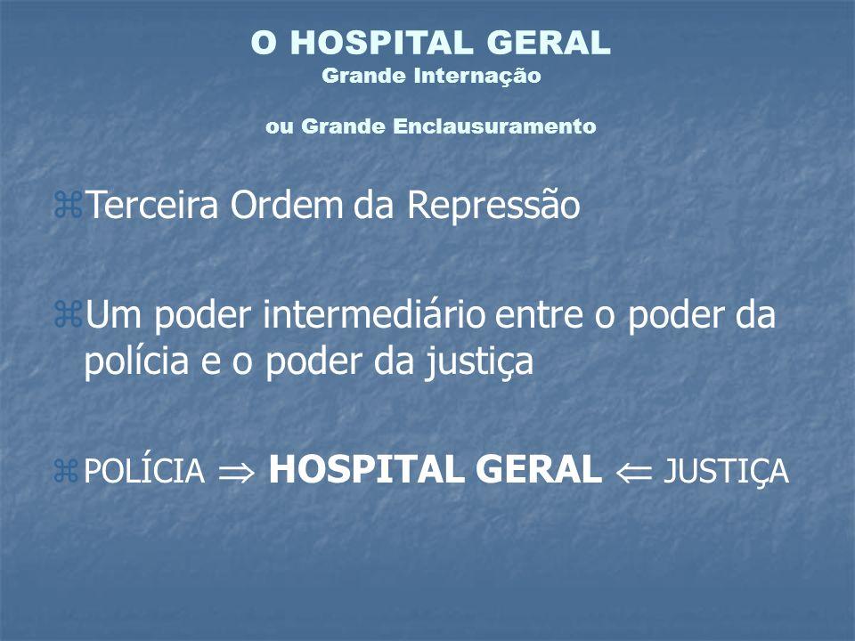 O HOSPITAL GERAL Grande Internação ou Grande Enclausuramento