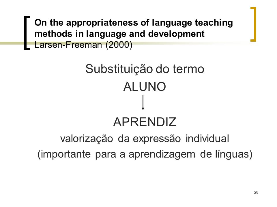 Substituição do termo ALUNO APRENDIZ