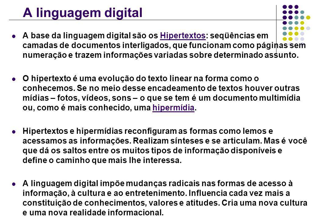 A linguagem digital