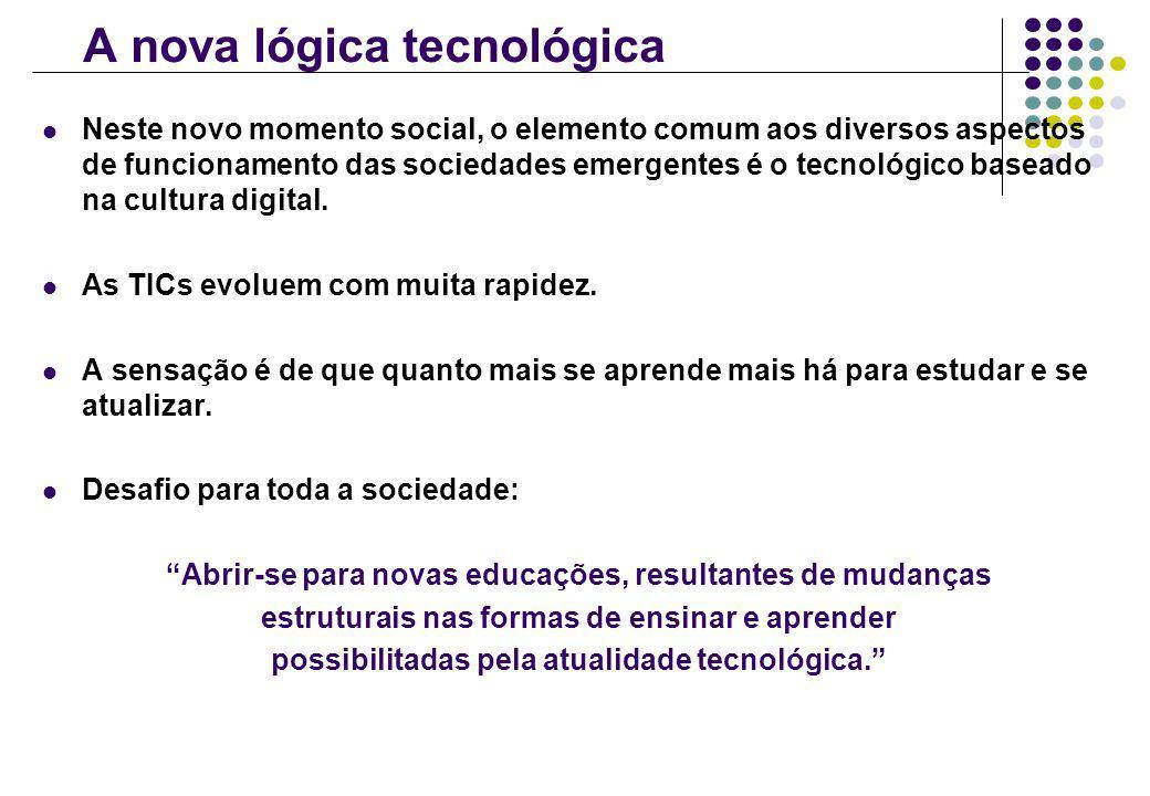 A nova lógica tecnológica