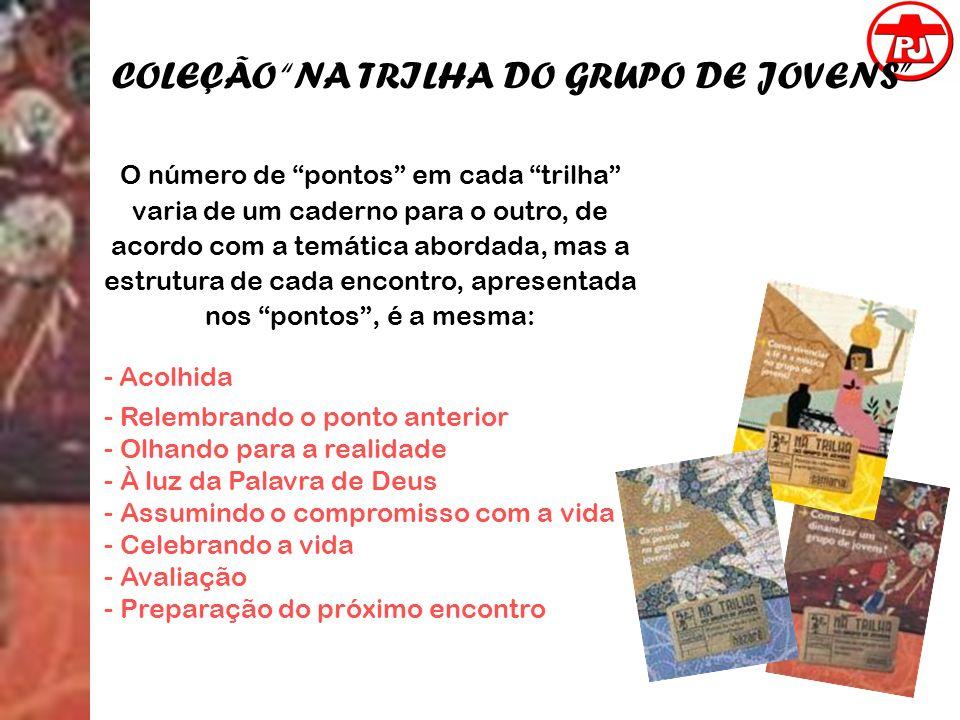 COLEÇÃO NA TRILHA DO GRUPO DE JOVENS
