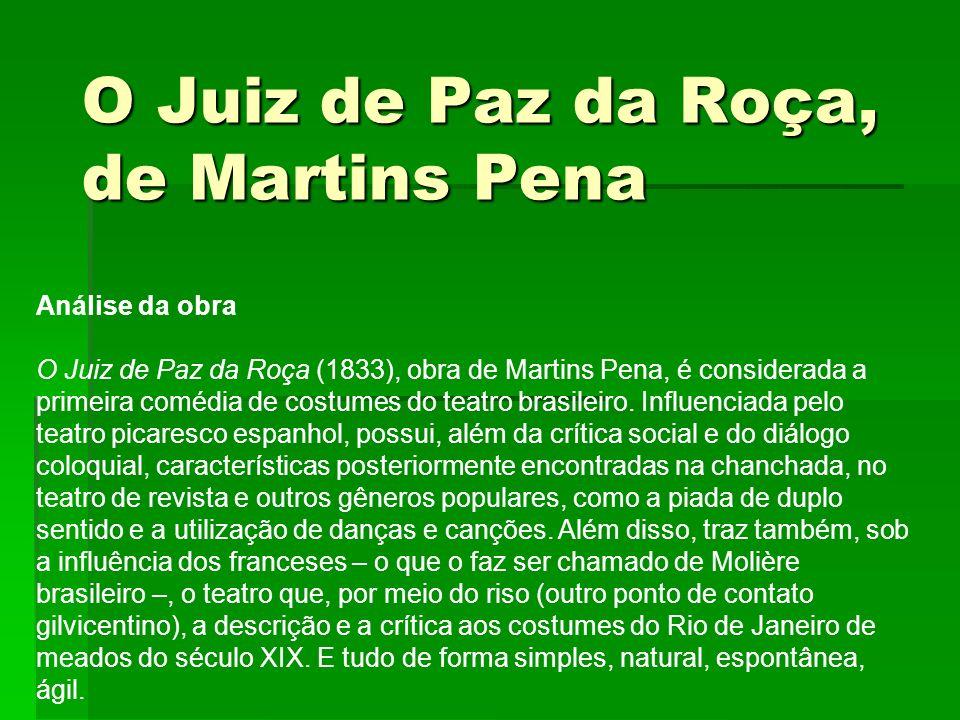 O Juiz de Paz da Roça, de Martins Pena