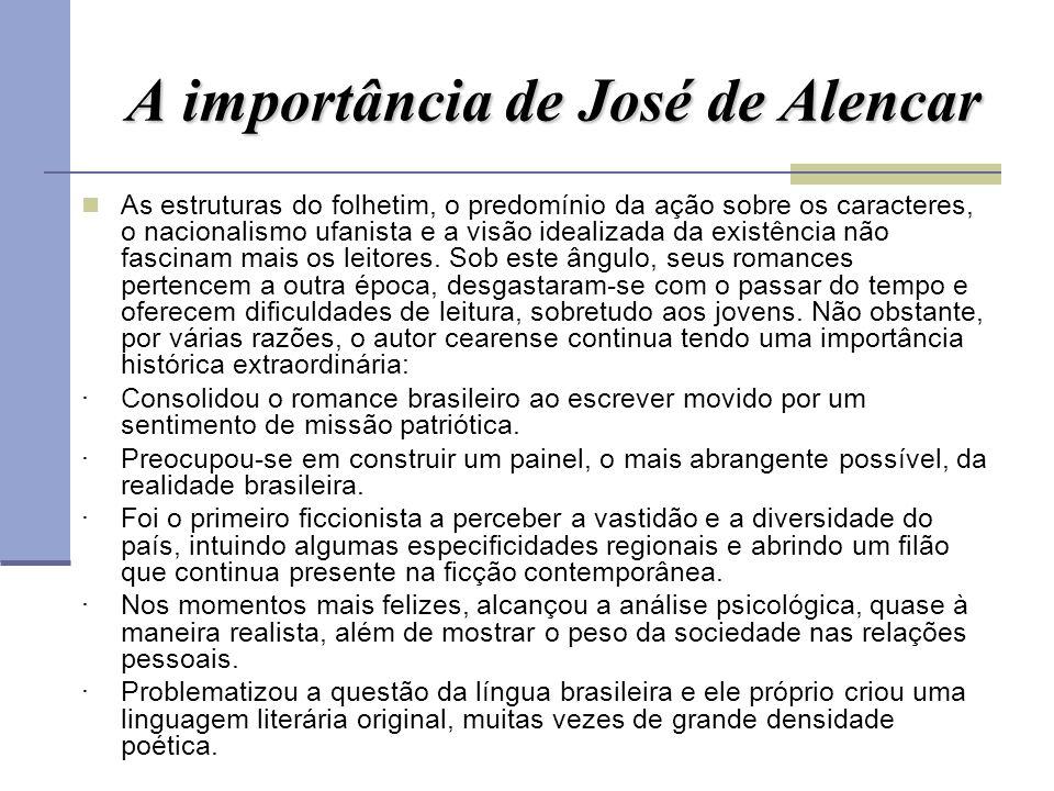 A importância de José de Alencar
