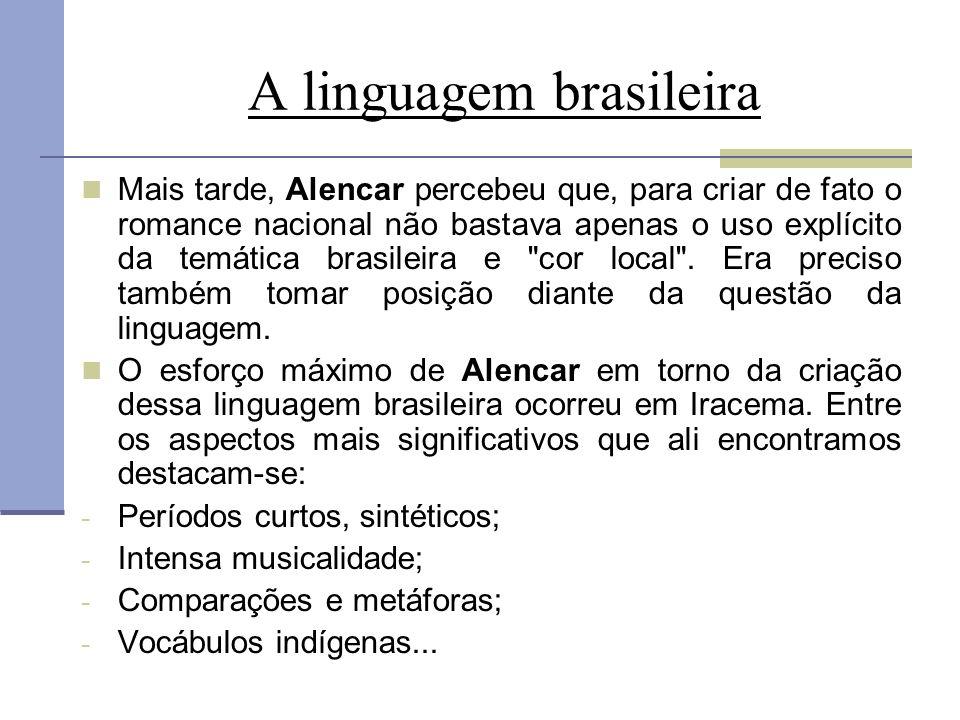 A linguagem brasileira
