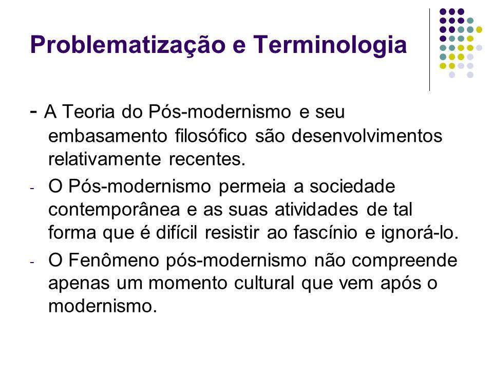 Problematização e Terminologia