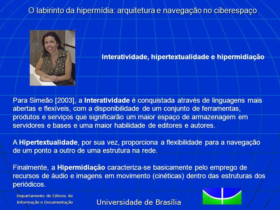 Interatividade, hipertextualidade e hipermidiação