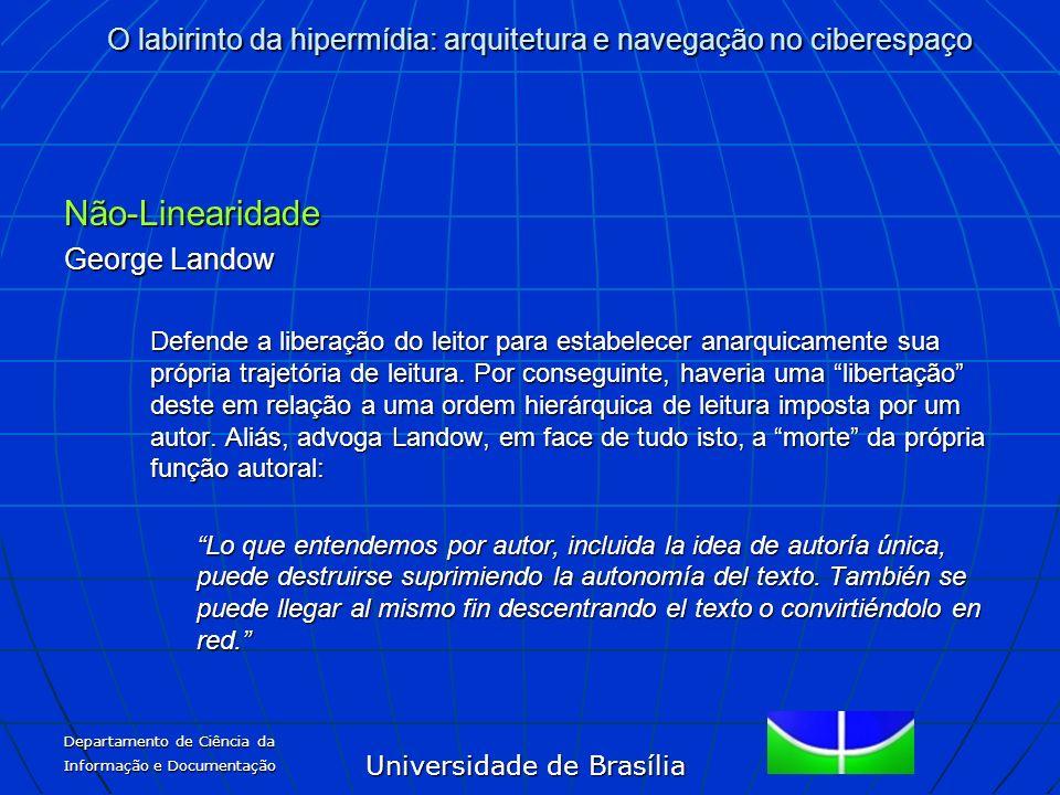 Não-Linearidade George Landow