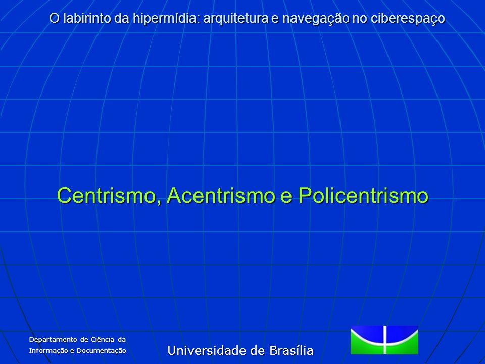 Centrismo, Acentrismo e Policentrismo