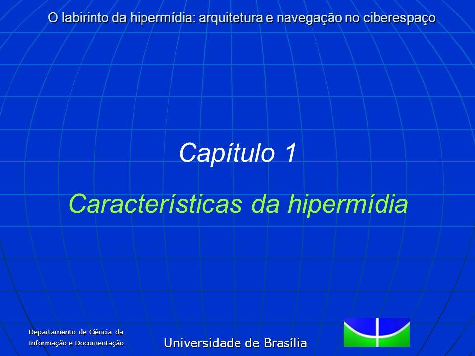 Características da hipermídia