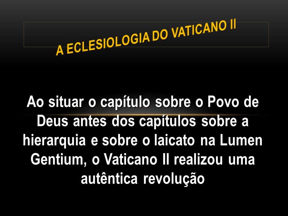 A Eclesiologia do Vaticano II