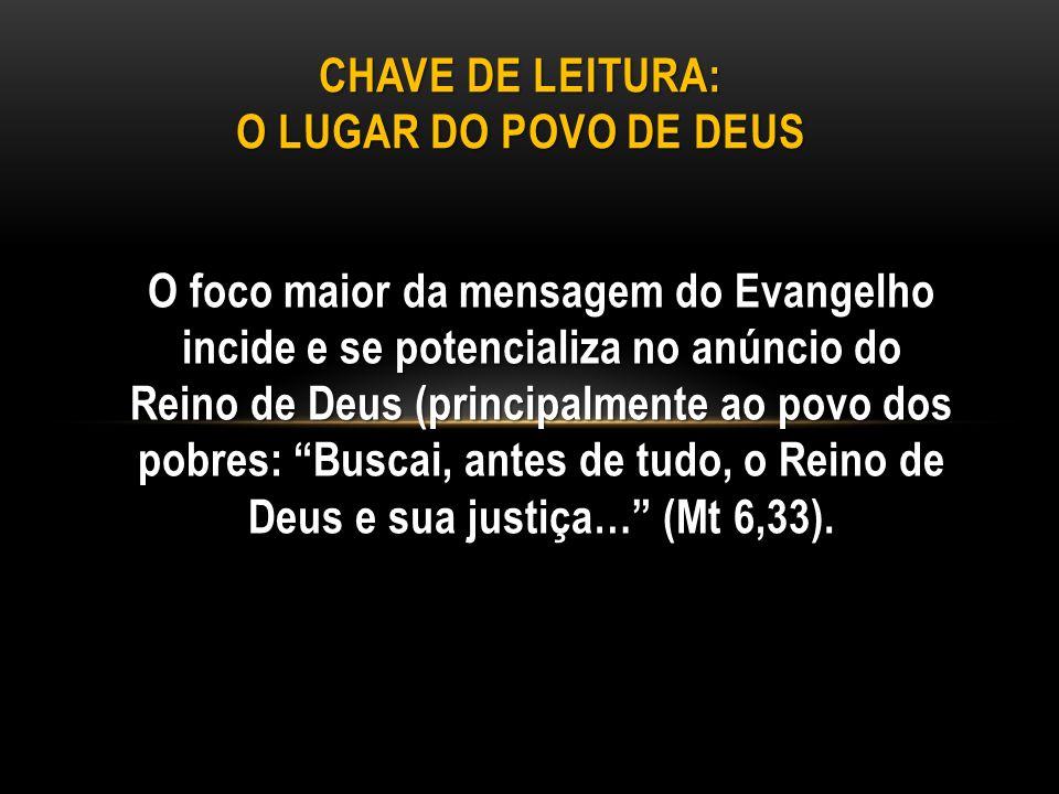 CHAVE DE LEITURA: O LUGAR DO POVO DE DEUS