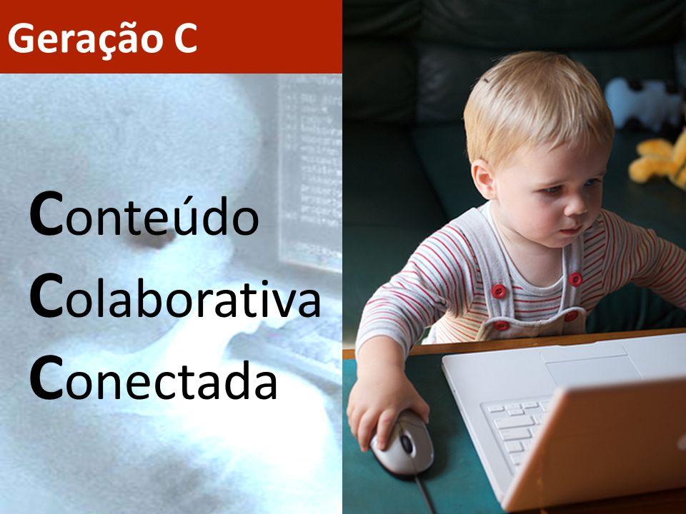 Geração C Conteúdo Colaborativa Conectada