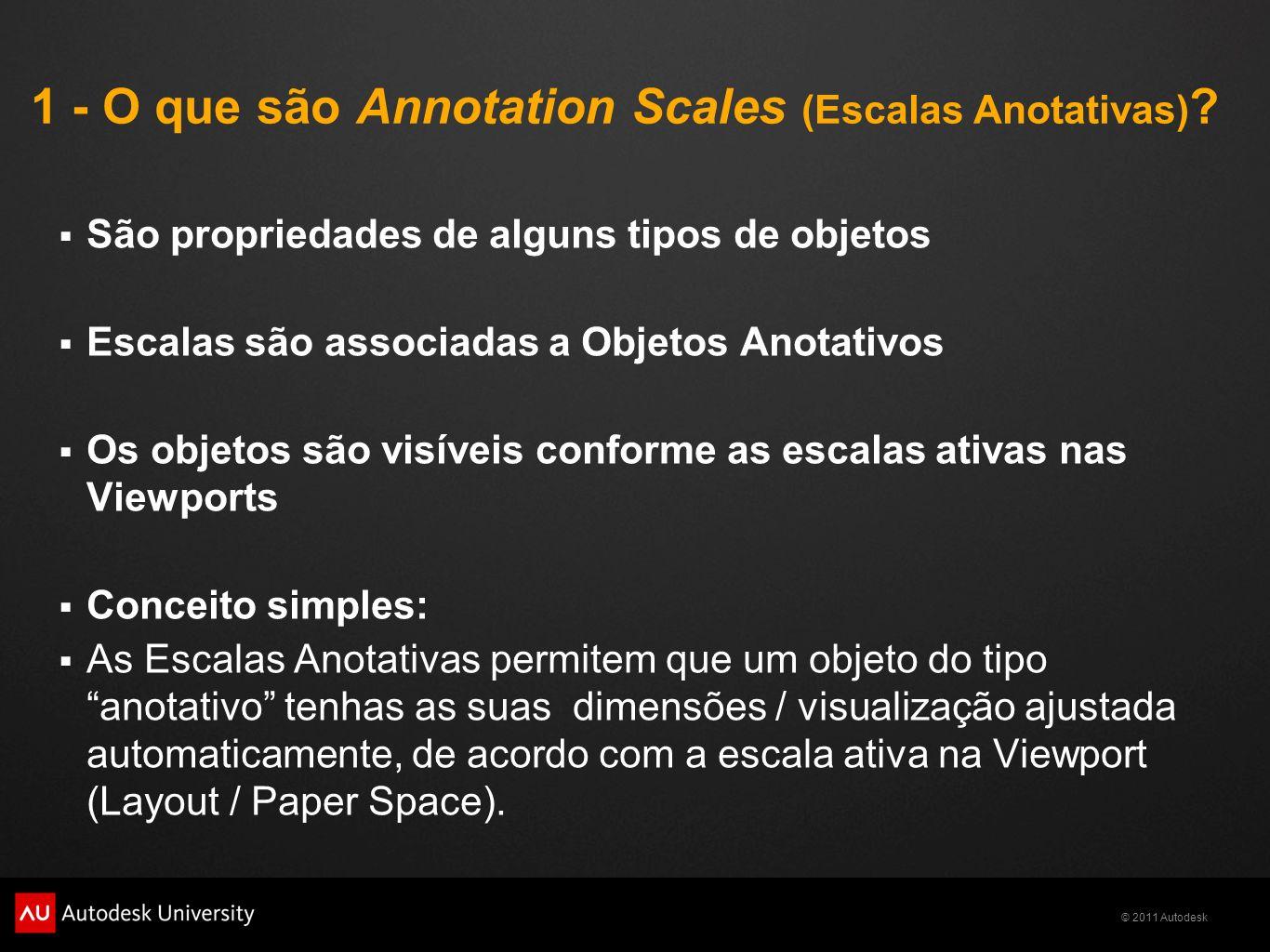 1 - O que são Annotation Scales (Escalas Anotativas)