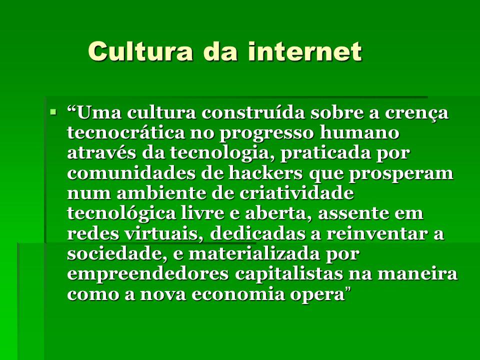 Cultura da internet