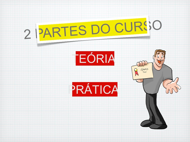 2 PARTES DO CURSO TEÓRIA PRÁTICA
