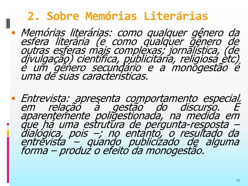2. Sobre Memórias Literárias