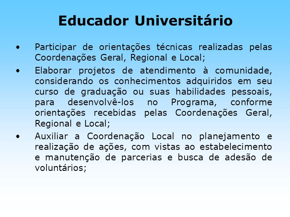 Educador Universitário