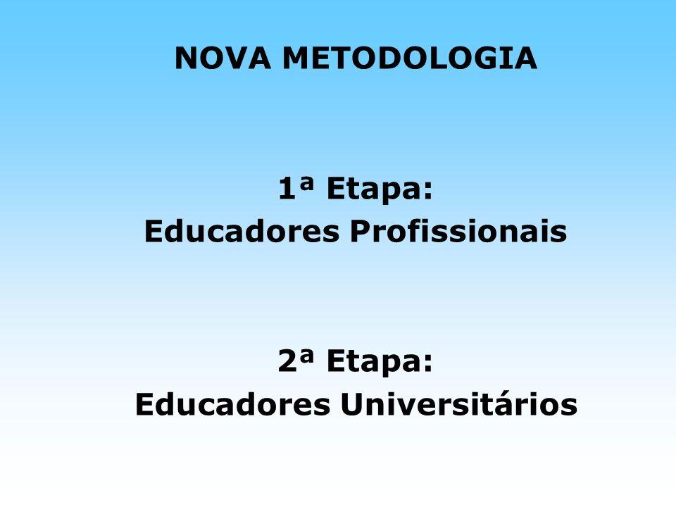 Educadores Profissionais Educadores Universitários
