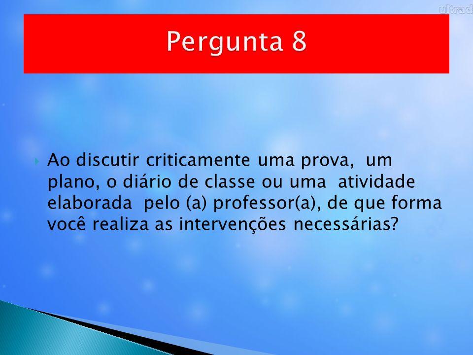 Pergunta 8
