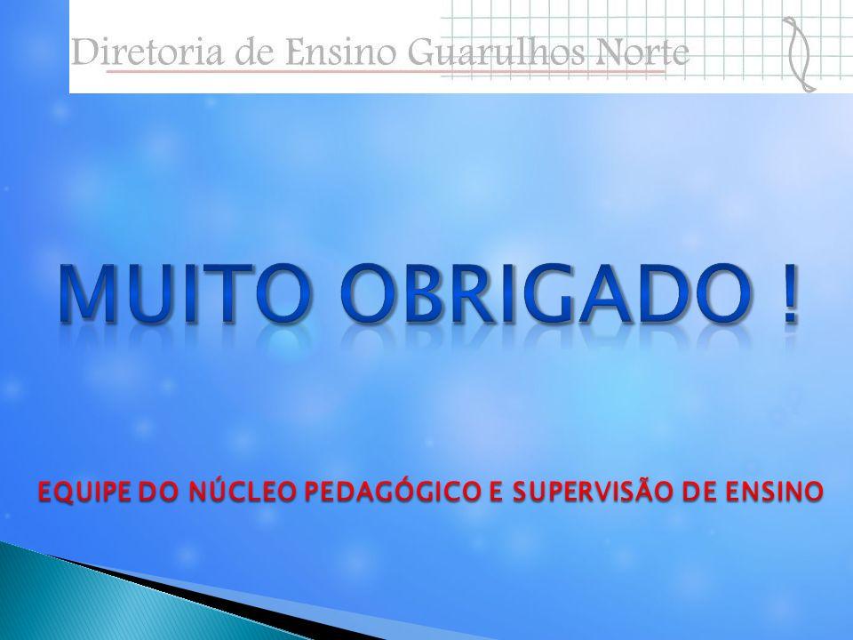 EQUIPE DO NÚCLEO PEDAGÓGICO E SUPERVISÃO DE ENSINO