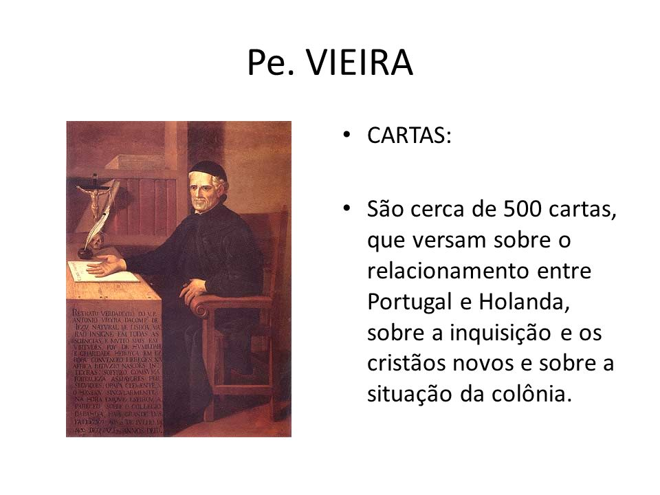 Pe. VIEIRA CARTAS: