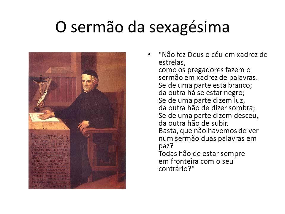 O sermão da sexagésima